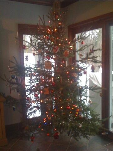 See-Through Christmas Tree