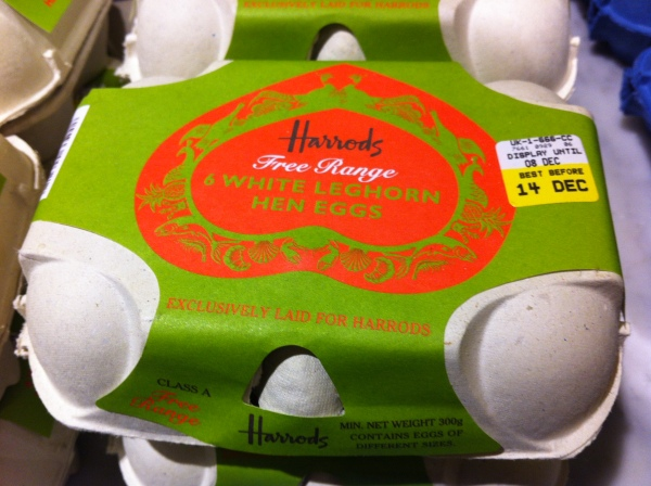 Harrods Eggs