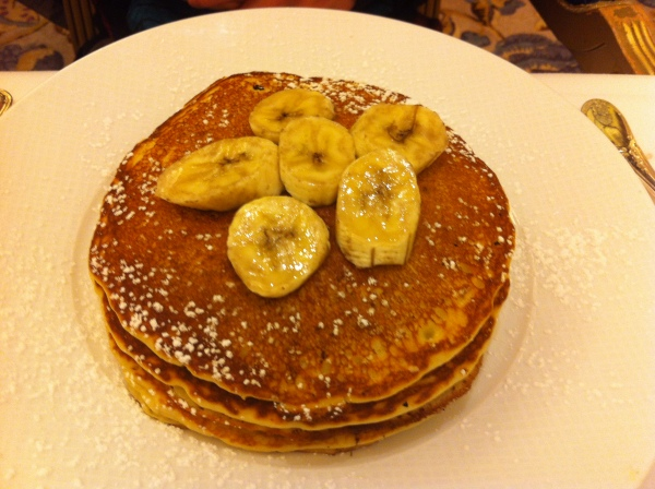 Nutella Banana Pancakes