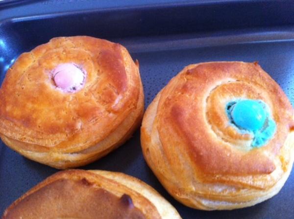 Mini Egg Pastries