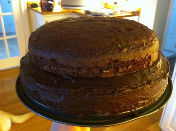 Chocolate Smartie Cake