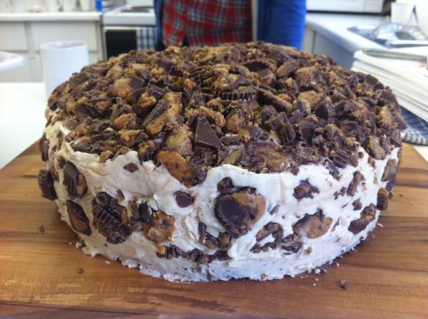 Chocolate Reese Cake