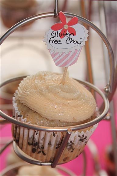 Gluten Free Chai Cupcake