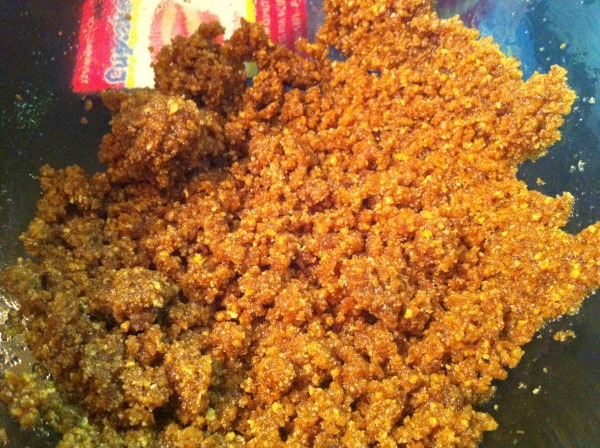 Graham Cracker Crumb Mixture