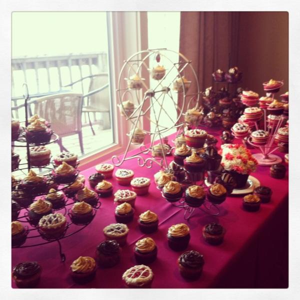 Cupcake Table