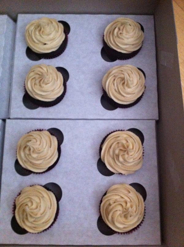Caramilk Cupcakes