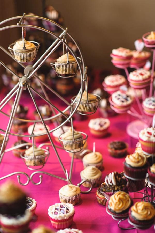 Ferris Wheel Cupcakes