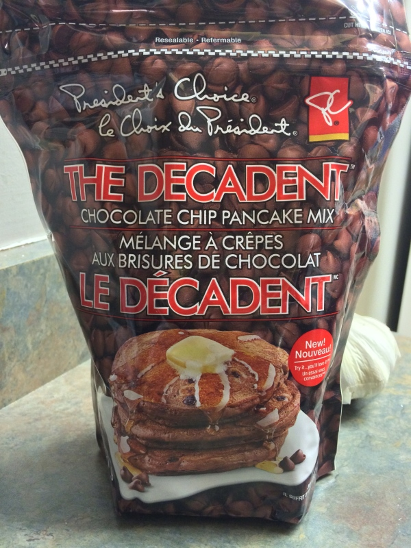 Decadent Pancake Mix