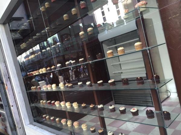 Cake Window Display