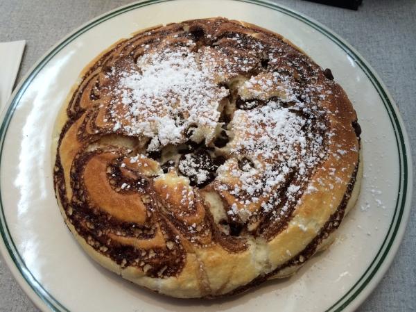Chocolate Soufflé Pancake