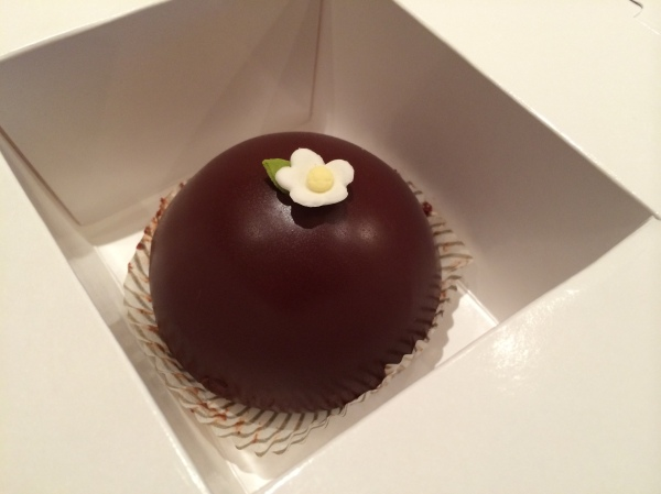 Scharffen Berger Chocolate Cake
