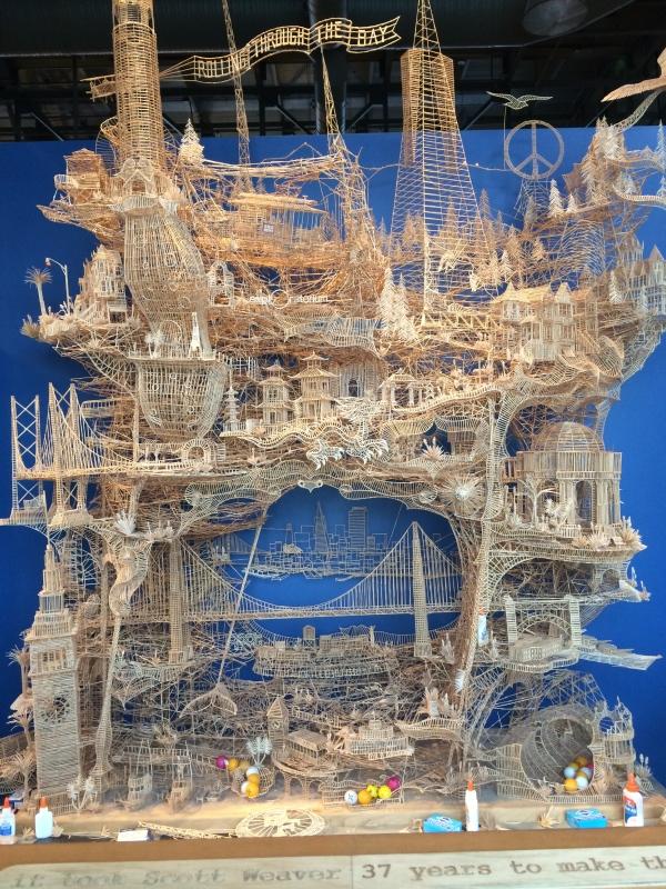Toothpick Building