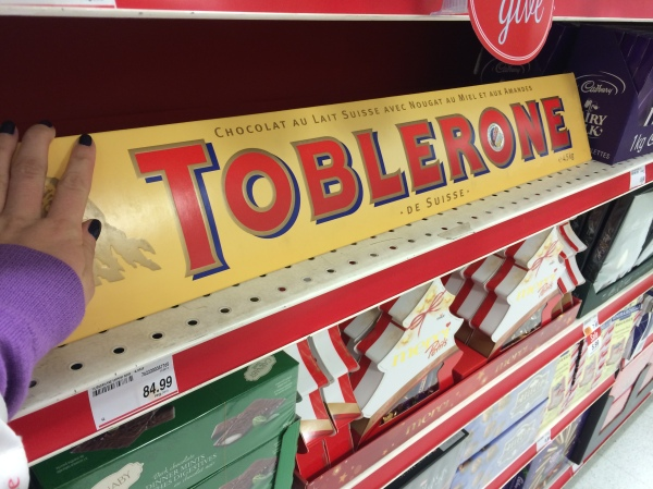 Giant Toblerone