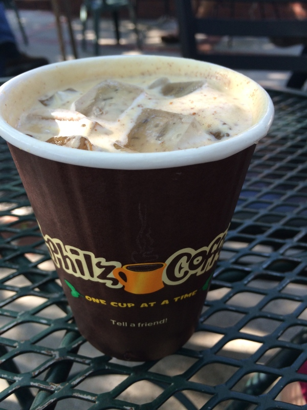 Gingerbread Iced Coffee