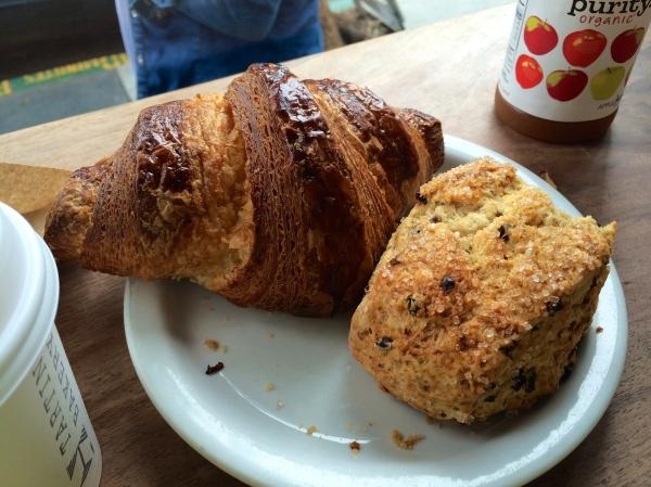 Croissant & Scone