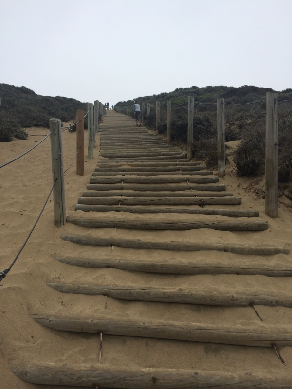 Sand Stairs