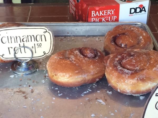 Cinnamon Roll Donut