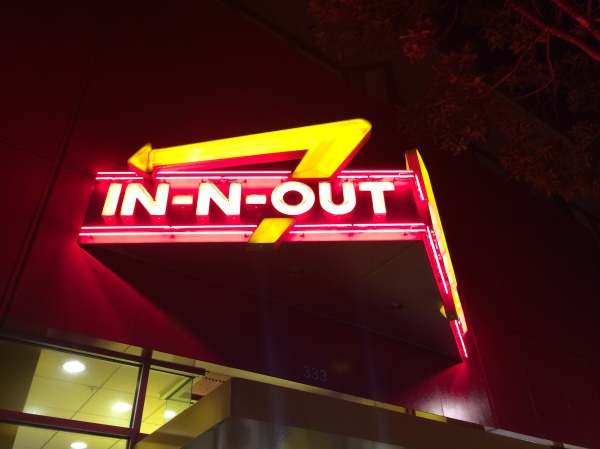 In N Out Sign