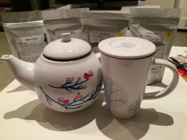 David's Tea Purchases