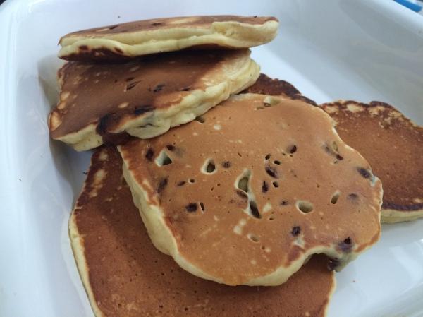 Egg Nog Pancakes