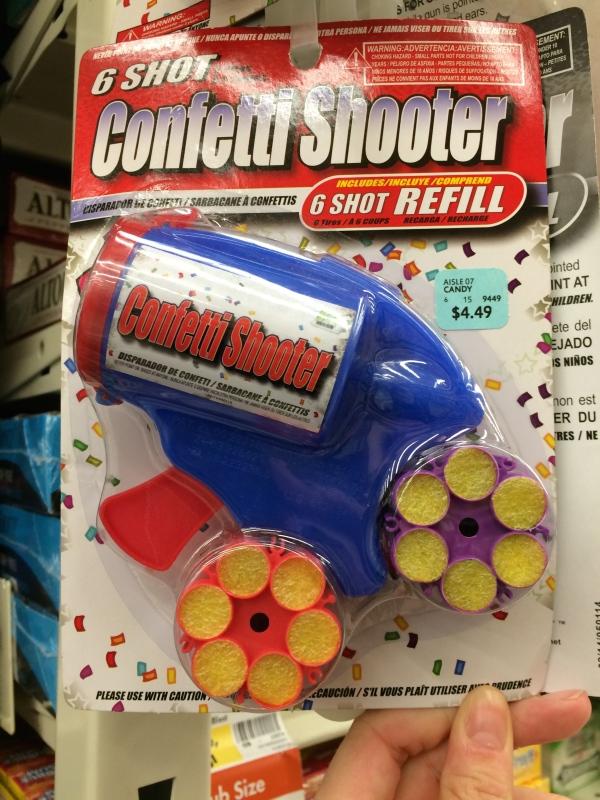 Glitter Gun