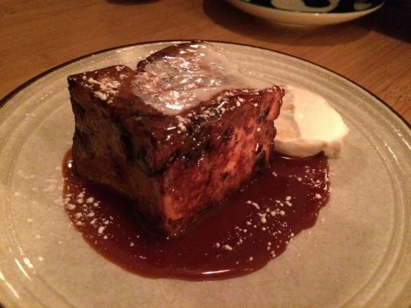 Chocolate Banana Challah Bread Pudding