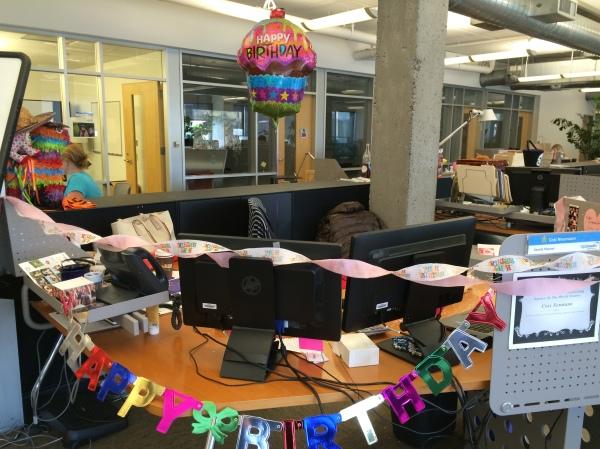 Decorated Desk
