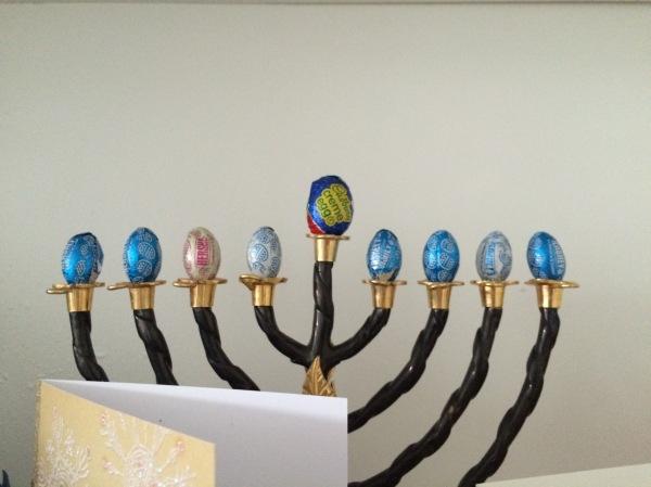 Easter Menorah