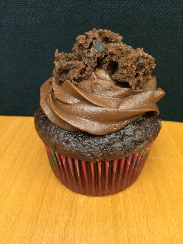 Triple Chocolate Brownie Cupcake