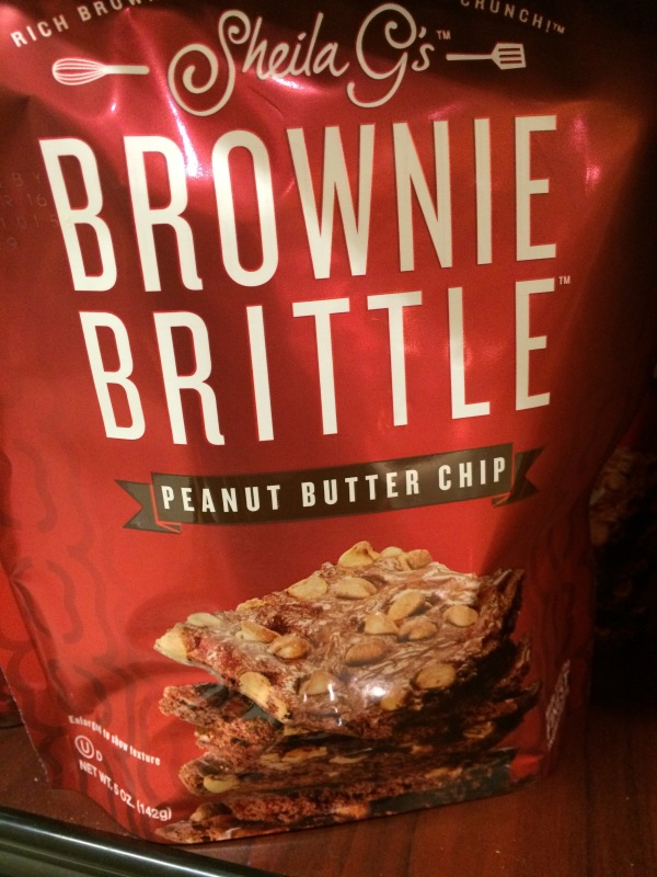 Peanut Butter Brownie Brittle