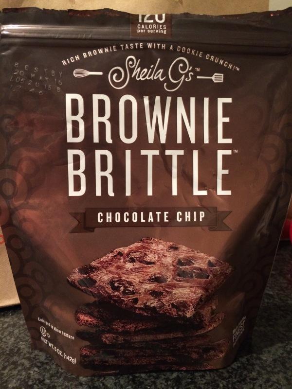 Chocolate Chip Brownie Brittle