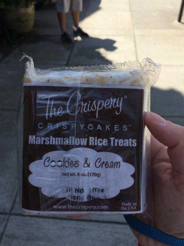 Cookies & Creme Rice Krispie Square